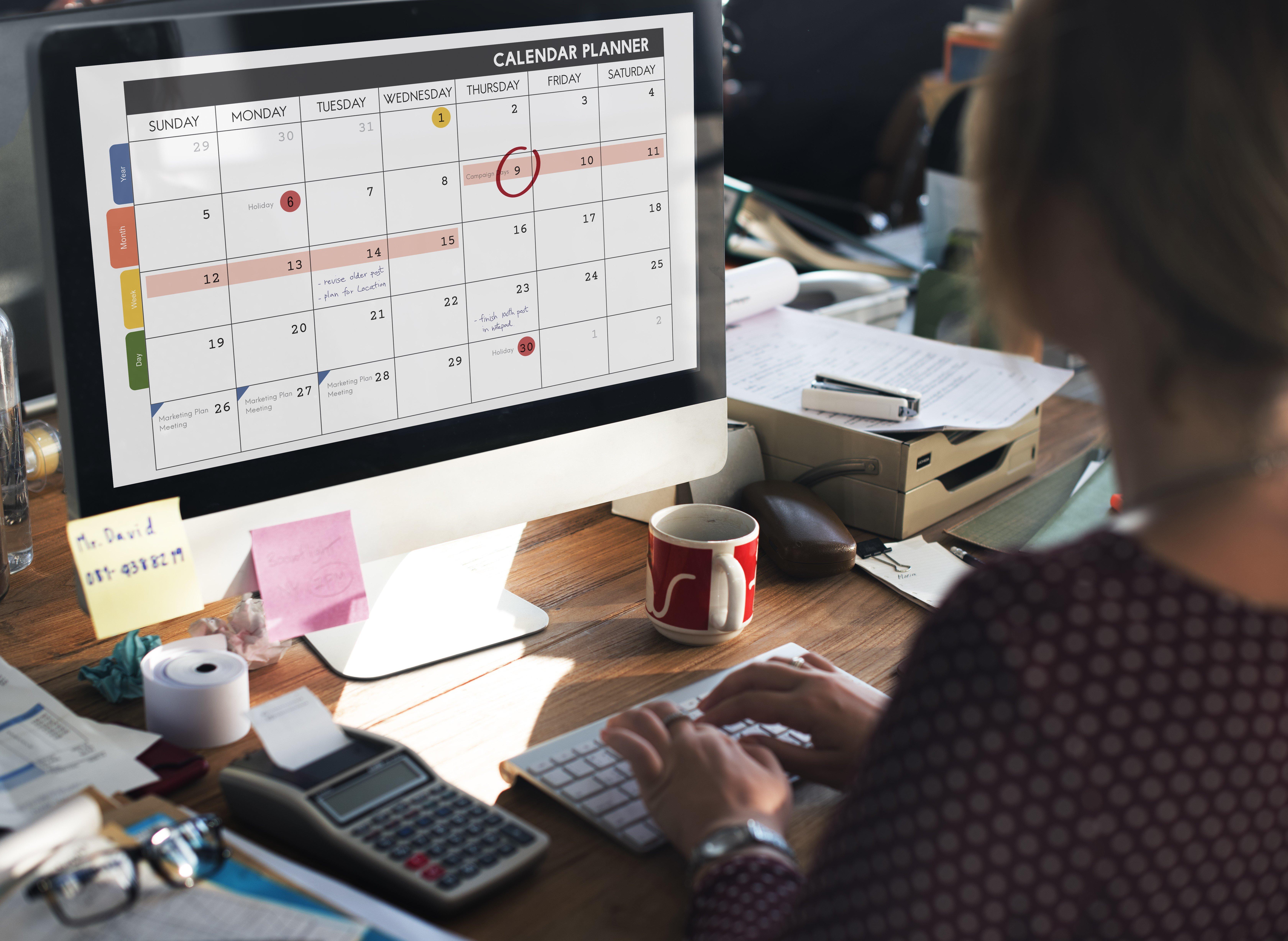 WEB - diary calendar