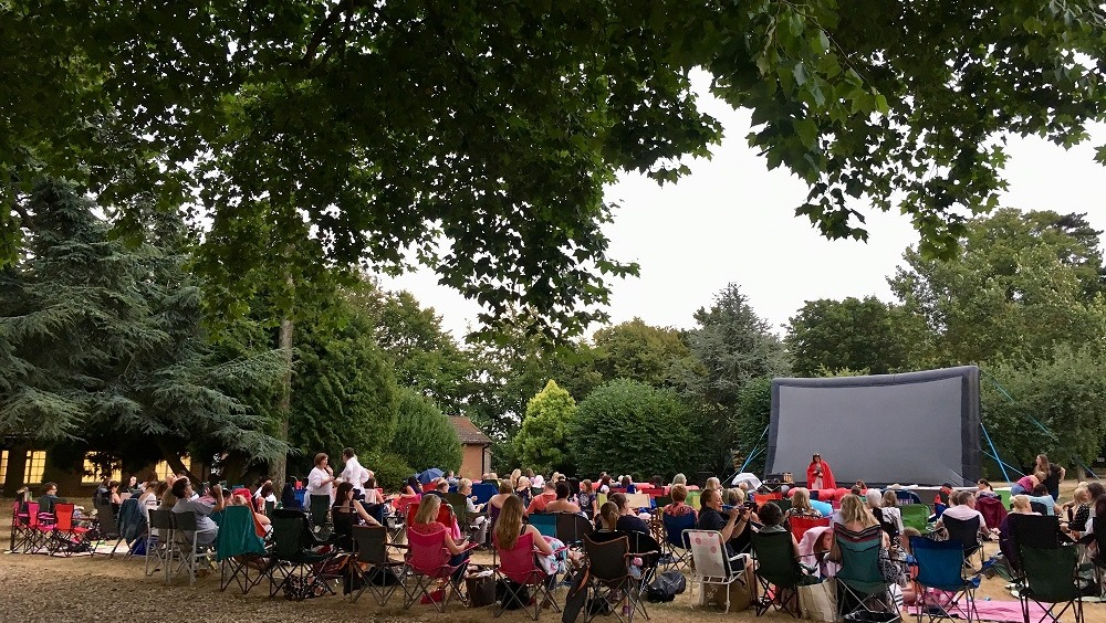 Outdoor Cinema at Highgate House