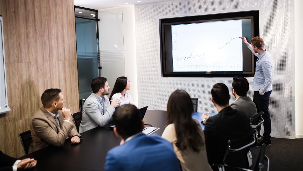 WEB - Delivering a presentation