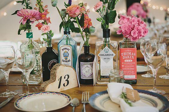 Pinterest - Gin Bottles