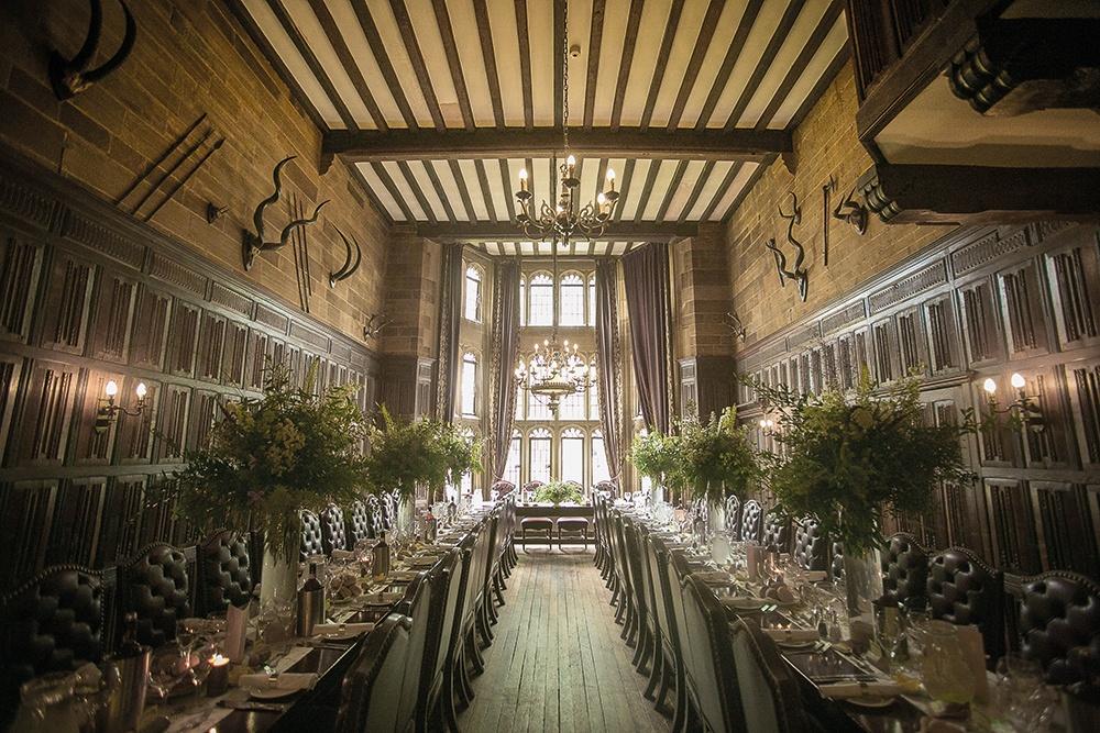 WEB - Highgate House Wedding - Baronial Hall - Wedding Breakfast ##Photographer - Lee Glasgow##.jpg