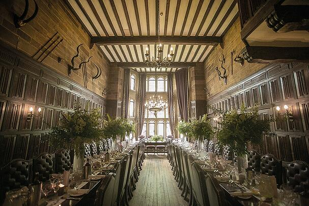 WEB - Highgate House Wedding - Baronial Hall - Wedding Breakfast ##Photographer - Lee Glasgow##.jpg