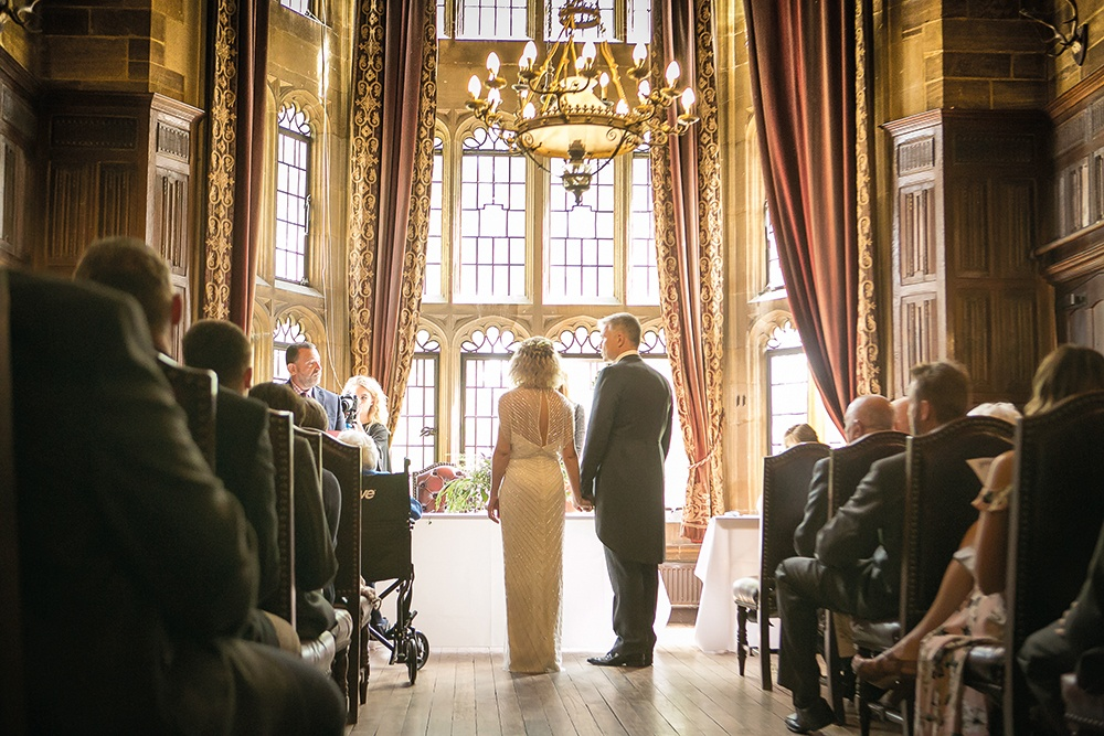 WEB - Highgate House Wedding - Baronial Hall - Wedding Ceremony ##Photographer - Lee Glasgow##.jpg