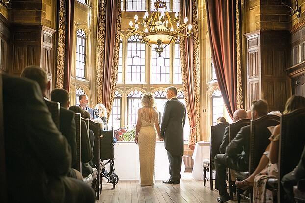 WEB - Highgate House Wedding - Baronial Hall - Wedding Ceremony ##Photographer - Lee Glasgow##.jpg