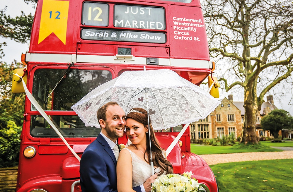 WEB - Highgate House Wedding - Couple Bus ##Photographer - Andy Doherty##.jpg